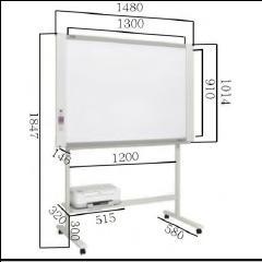 彩色電子白板   PLUS M-18S